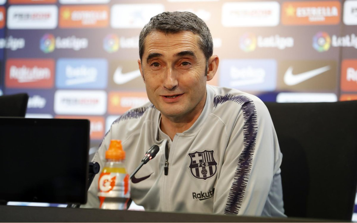 """test Twitter Media - 🔊 Valverde: """"On Sunday, if I can, I'll go to the Miniestadi to see the @FCBfemeni team play @FCBFrauen. They're making big progress, and with the Club doing so well in Europe, it will only further accelerate the growth in women's football."""" https://t.co/q6QaksOftC"""