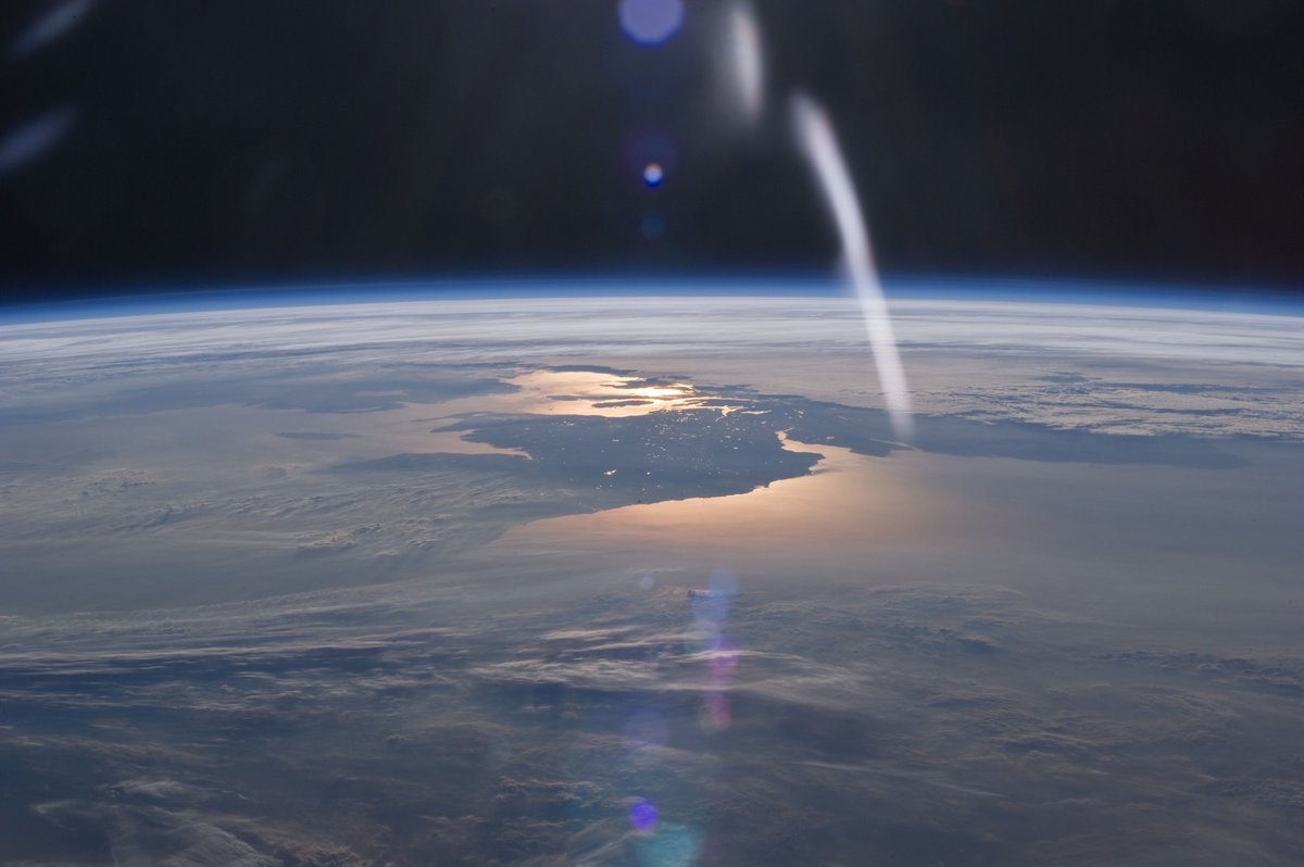 There may be no better view of earth than from the ...