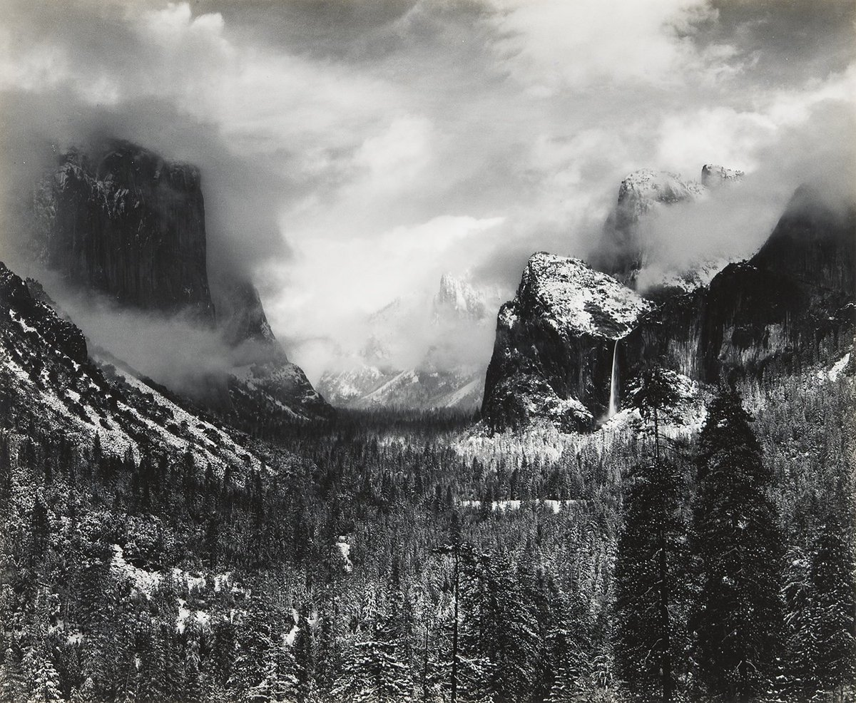 Along with celebrating Earth Day today, we are also celebrating Ansel Adams' legacy as this is the day he left this earth, 35 years ago. We are honored to represent his legacy!  : Clearing Winter Storm, ca. 1938 by Ansel Adams  #EarthDay  #AnselAdams #Yosemite<br>http://pic.twitter.com/sw5F00Suk1