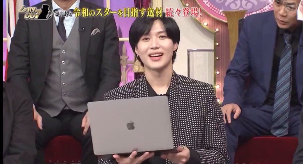 At the end Taemin literally held a Macbook &amp; read the script promoting PORTRAIT off it  <br>http://pic.twitter.com/eCegLbaCVj