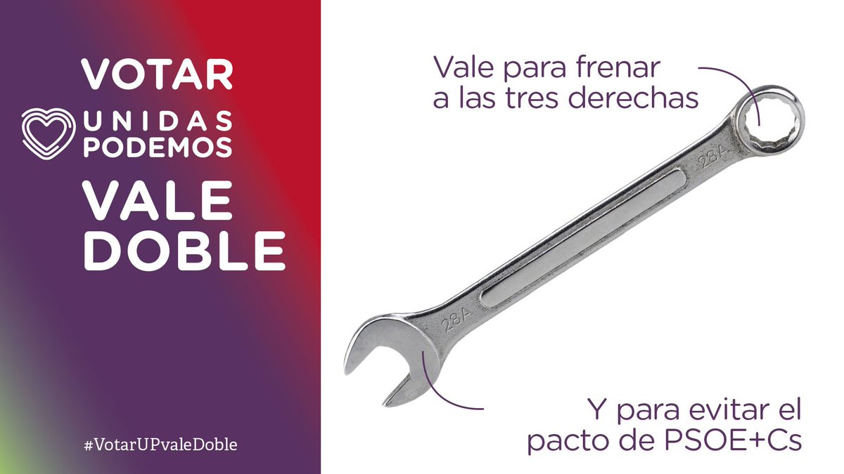 Pablo Iglesias's photo on #VotarUPvaleDoble