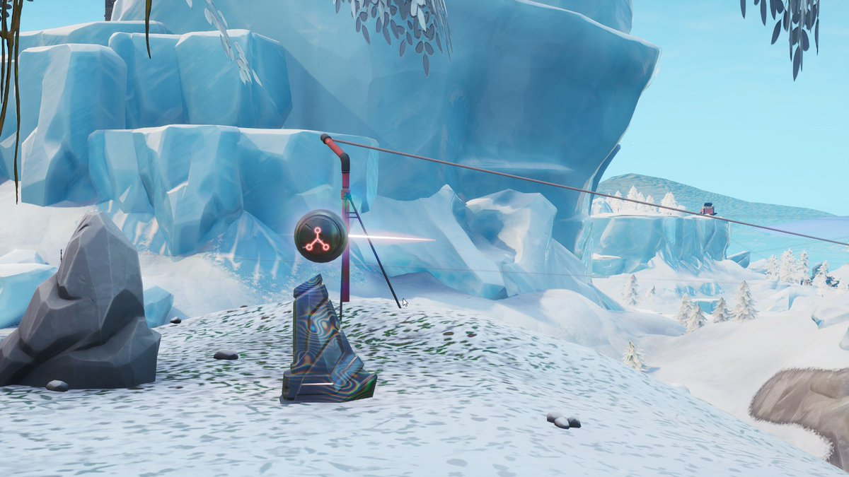 There are three of the Rune #2 pedestals - one at the top of the Volcano, one on the mountain north of Pleasant Park, and one on the mountain east of Polar Peak.  (via/@iScenario) #Fortnite<br>http://pic.twitter.com/qRJIs3FFgd