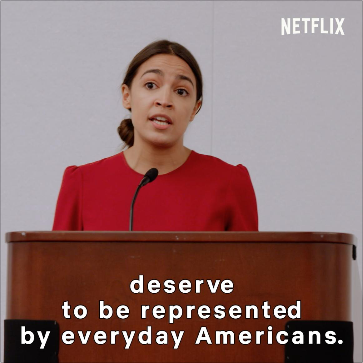 Alexandria Ocasio-Cortez's photo on #KnockDownTheHouse
