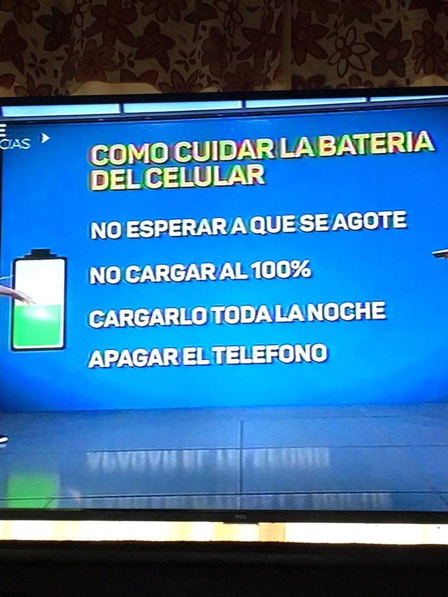 Cómo cuidar la batería de tu celular.