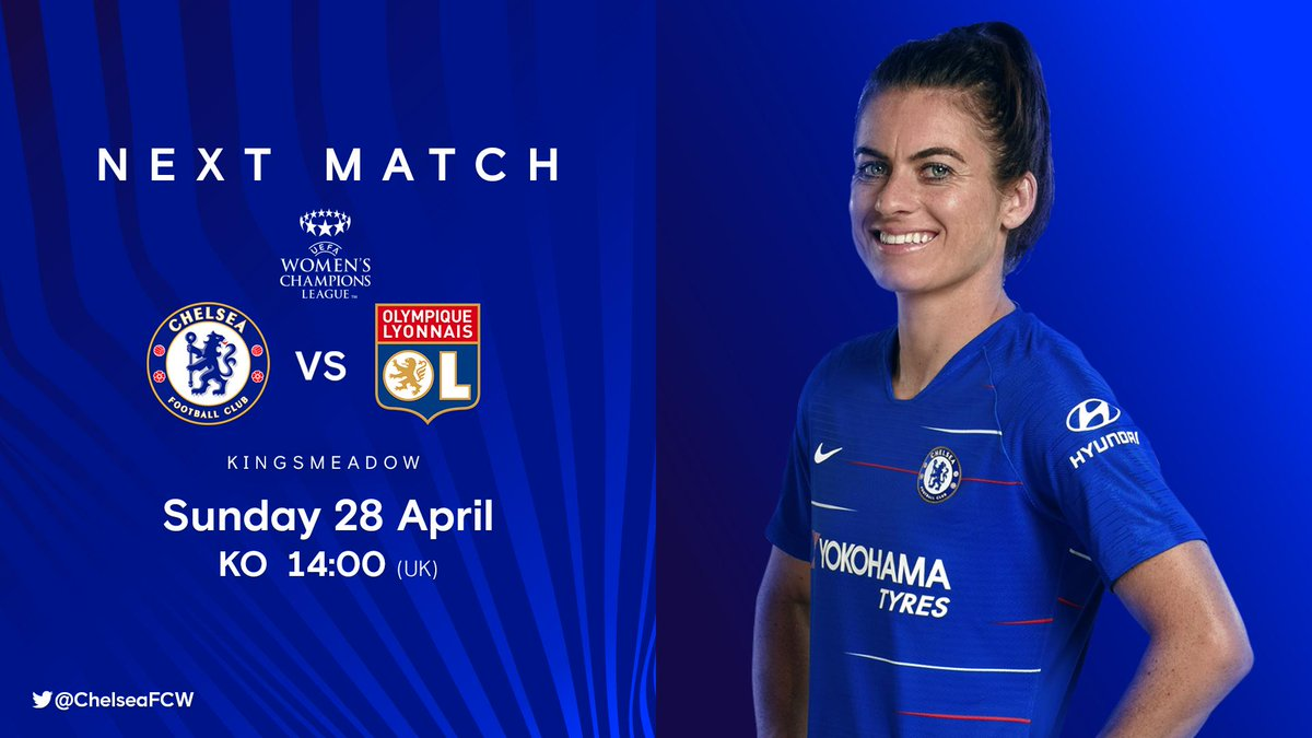 All eyes on Sunday now! 🙌  There are only a few tickets left, so don't miss out!   🎟 http://che.lc/CFCWtickets