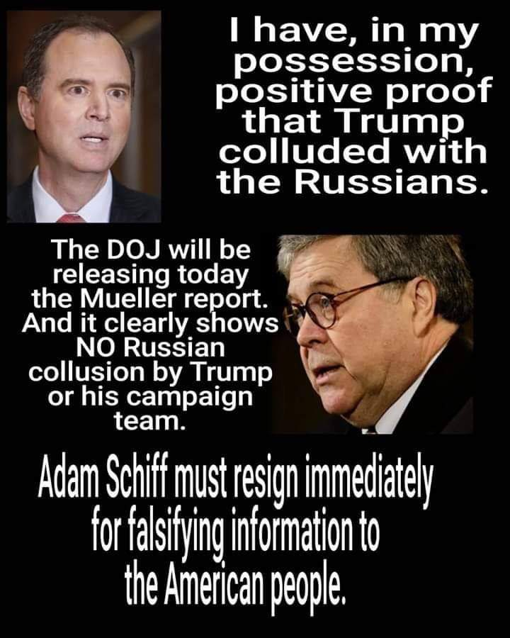 Adam Schiff should be investigated for treason for lying to the public. We as a people need to end this corruption and rid ourselves of these traitors https://t.co/Jz4dC1MKua