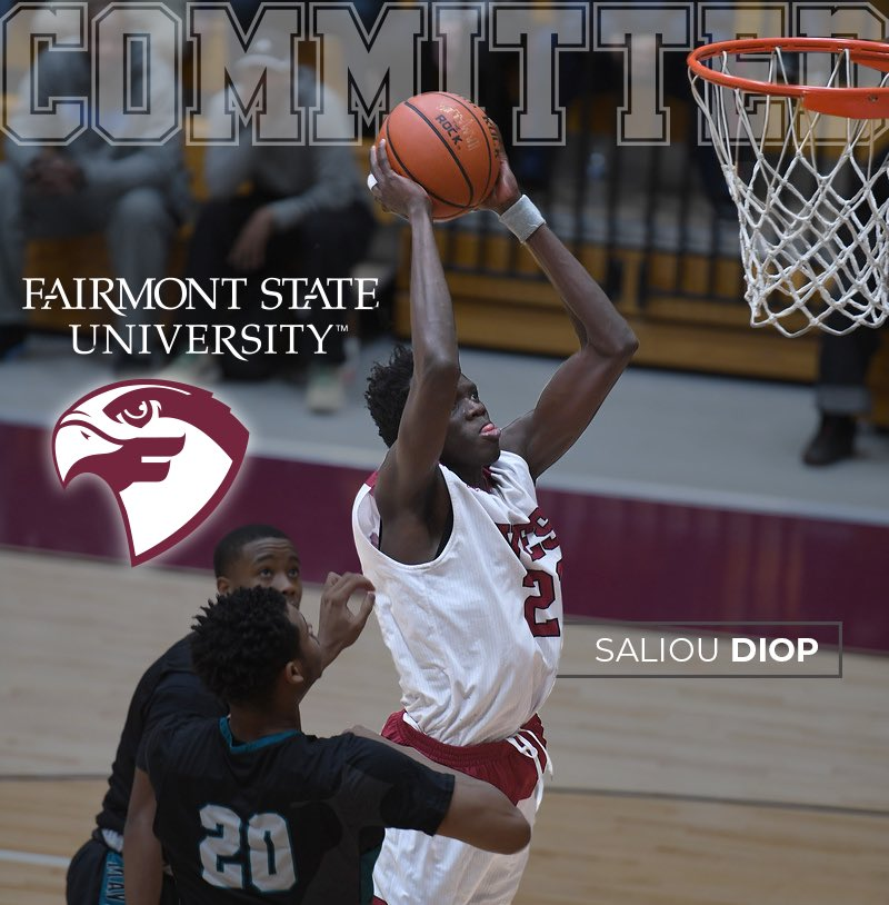 b97eec00d889 Congratulations to  Saliou Diop259  19 on his commitment to  Fairmont Hoops  coached by Joe Mazzulla and  KyleEllisWV  14 (Director of Basketball  Operations) ...