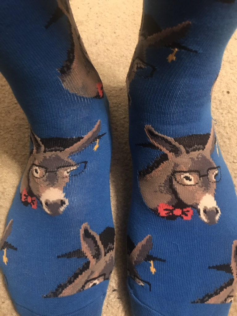 Rebecca found the ultimate David Ries socks!   #Smartass #Sockgame <br>http://pic.twitter.com/Io4JXXReTM