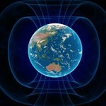 Image for the Tweet beginning: Earth's magnetic north pole is