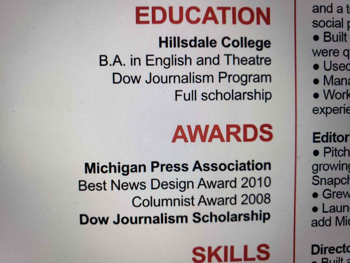 @joelcifer This is from your own resume. 'Full scholarship'