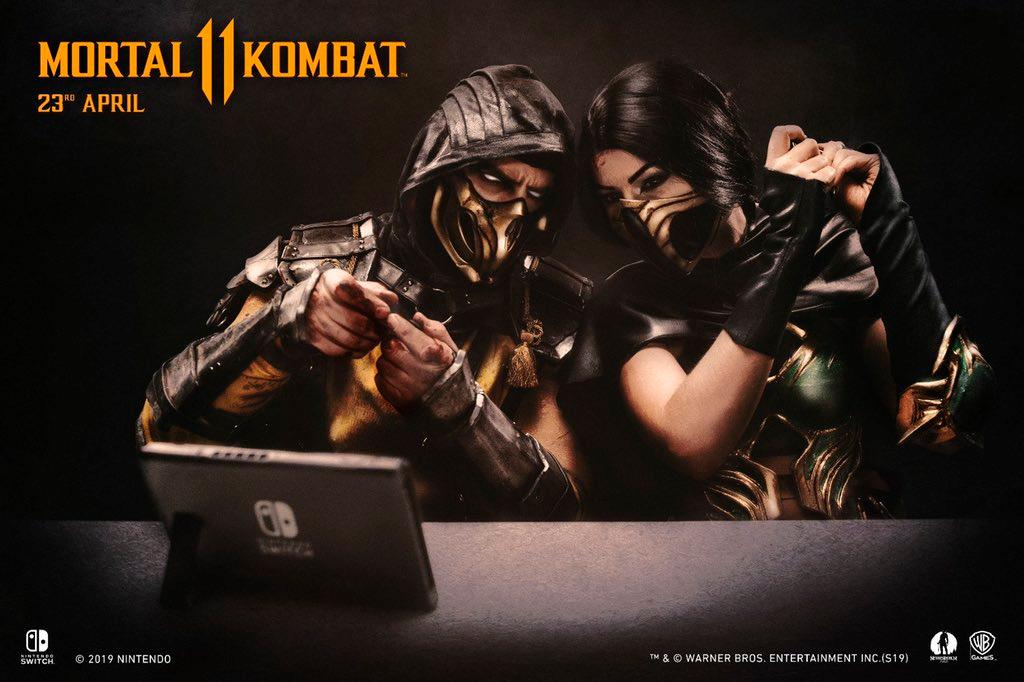 Mortal Kombat 11 is releasing on Nintendo Switch tomorrow.  How wild is that? <br>http://pic.twitter.com/tnf5lf4BdS