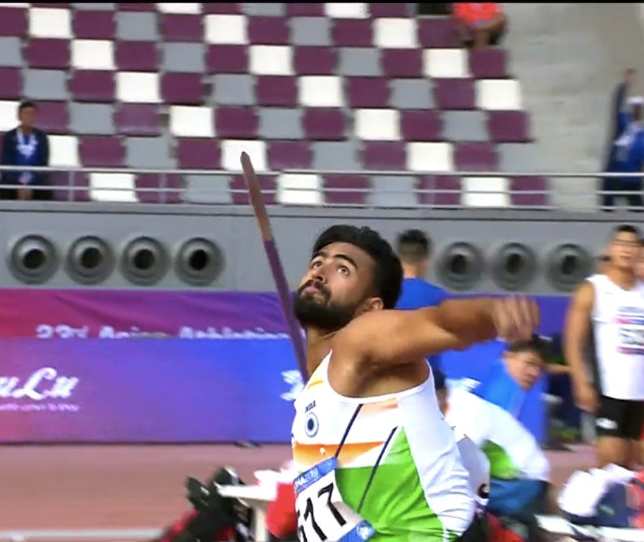 Another medal to Team India in #AAC2019 and this time its Shivpal Singh winning 🥈in men's Javellin Throw with a personal best of 86.23m #MEDALRUSH #Teamindia #Athletics #proudmoment
