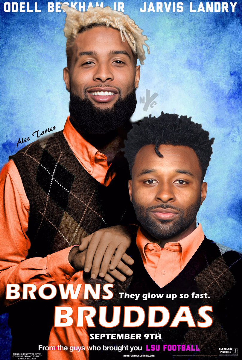 """Coming September 9th, 2019 we present to you """"Browns Bruddas"""". *this duo is not yet rated* @obj @God_Son80<br>http://pic.twitter.com/EZRsGDTeB9"""