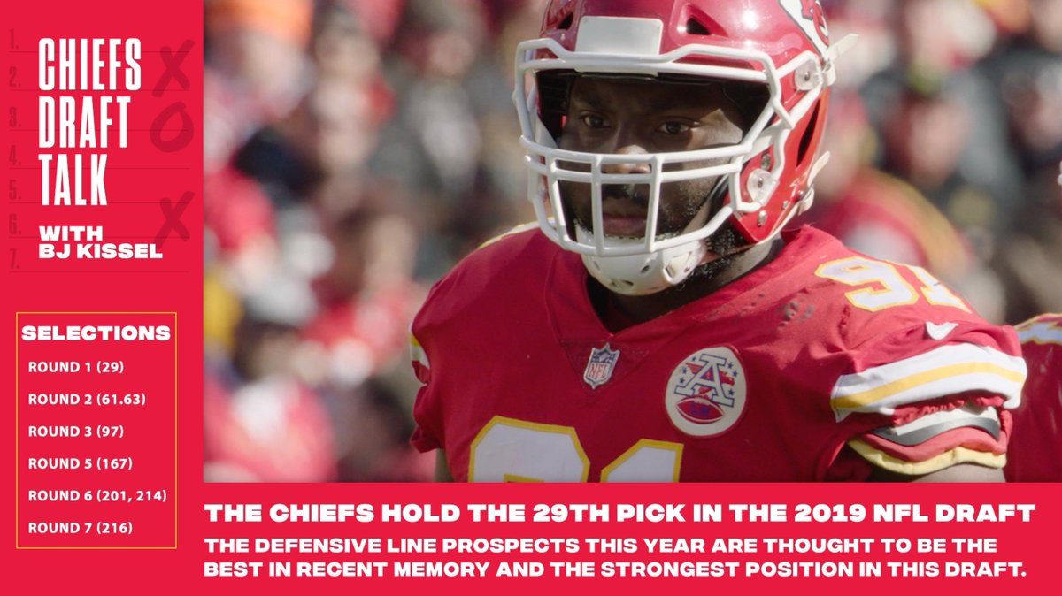 We are 3️⃣ days away from the #NFLDraft. @ChiefsReporter previews a DEEP defensive line class ⬇️