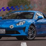 Image for the Tweet beginning: The Alpine A110 is the