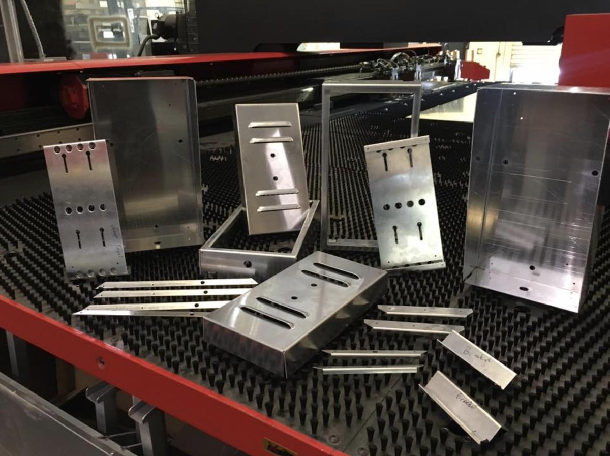 AmericanMetalX formed custom parts for transformer switch