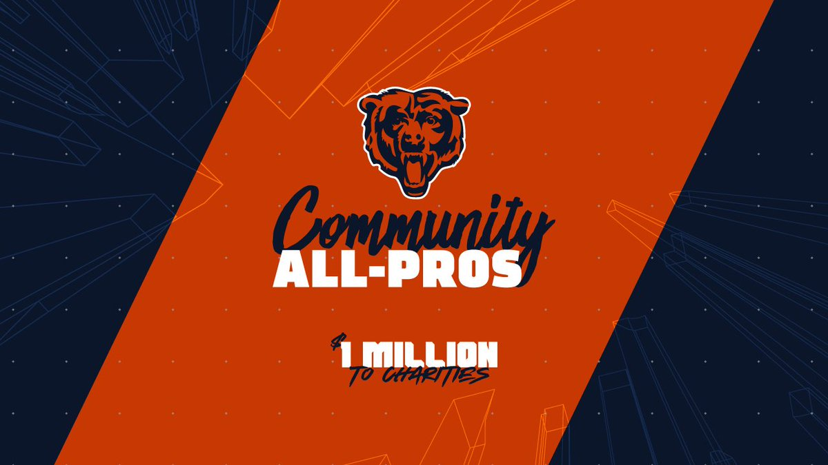 Fans - We could use your help! #DaBears will be giving away $1 million to charities this coming season. Find out more at chgobrs.com/2ZqZ8Zm.
