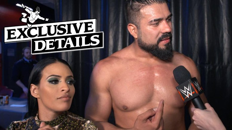 Andrade and Zelina Vega are Moving Back to SmackDown Live: bit.ly/2UQQ7d8