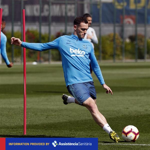 test Twitter Media - 💪 @thomasvermaelen gets medical ok for Tuesday's game 📋 All the details on the squad for #AlavésBarça! 👉 https://t.co/qyUdcuRsSu 👈 🔵🔴 #ForçaBarça https://t.co/HS6S8kOVnt