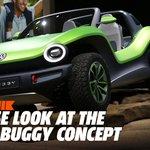 Image for the Tweet beginning: The electric Volkswagen ID Dune