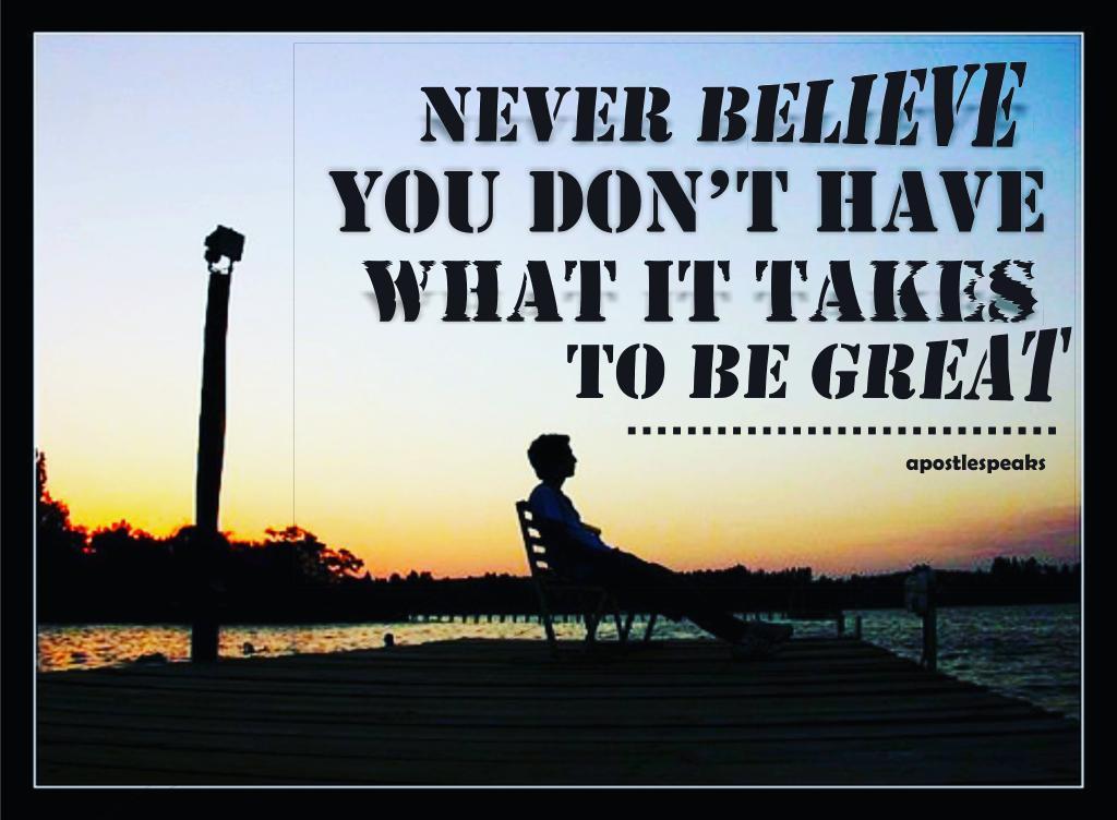 You can be great.. #TWICE_FANCY #EarthDay #ThinkBIGSundayWithMarsha #gbolahanirebami #lifequotes #GreatAwakening