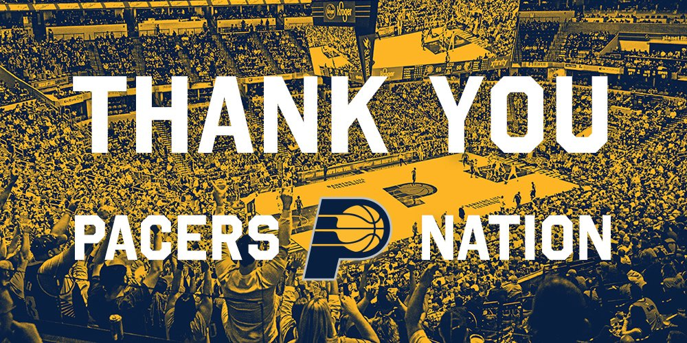 Through all the adversity we faced this season, this team didnt quit - and neither did you. Thank you for packing @TheFieldhouse every night, lifting us up, and always having our backs.