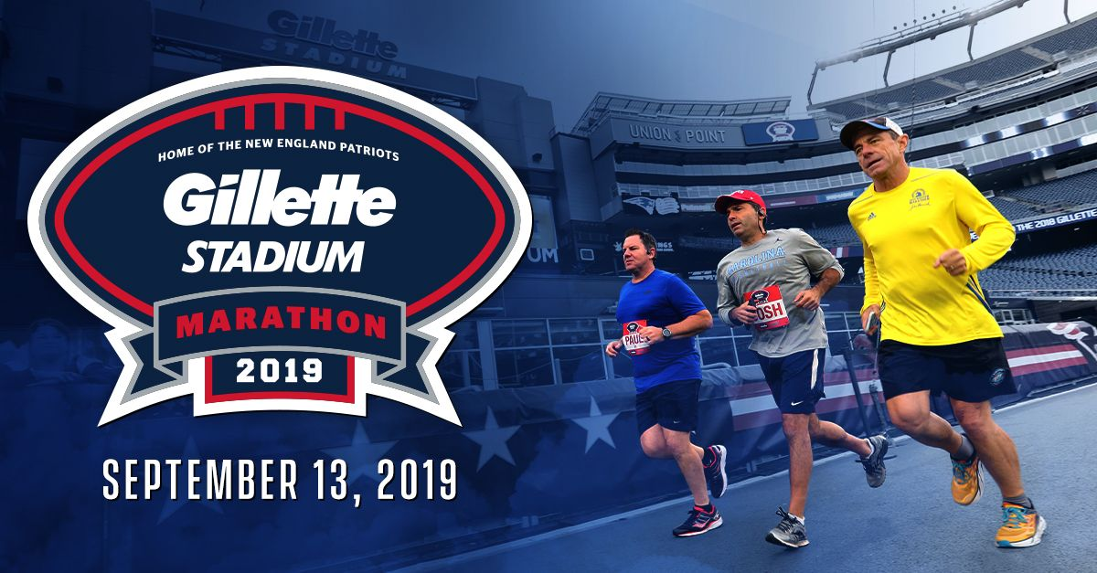 Last Monday was #MarathonMonday. This Monday = another chance to run!  Sign up for the 2nd annual @GilletteStadium Marathon &amp; Half Marathon:  http:// bit.ly/2GBEiin  &nbsp;  <br>http://pic.twitter.com/Y1D5Ya55oD
