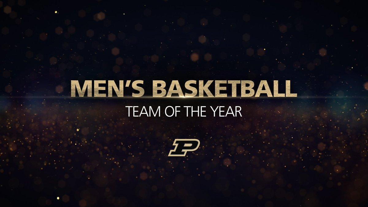 #GoldenPetes 🏆  Team of the Year 🏀🏀🏀 @BoilerBall   #BoilerUp