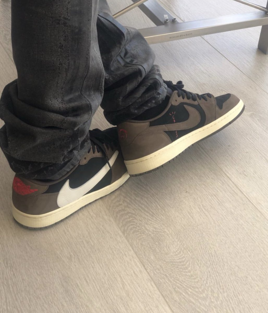 ea5d17441cac25 Best 👀 yet at  trvisxx s air jordan 1 lows expected to release this fall.   📸   jwolfstreetexec