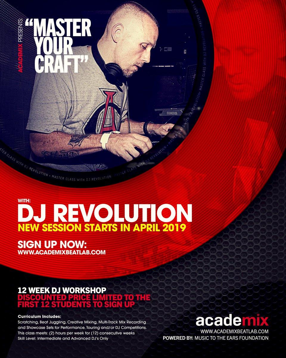 DJ Revolution (@DJRevolution) | Twitter