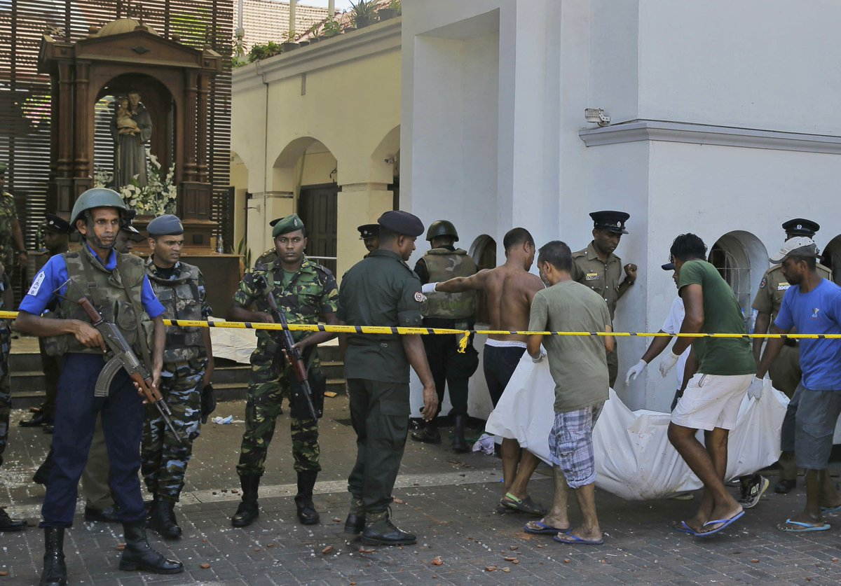 At least 30 foreign nationals are among 290 people killed by Easter bomb attacks in Sri Lanka:  - UK: 8 - India: 8 - U.S.: 4 - Denmark: 3 - Australia: 2 - China: 2 - Spain: 2 - Switzerland: 2 - Nationals from Japan, Portugal and the Netherlands are also among the dead