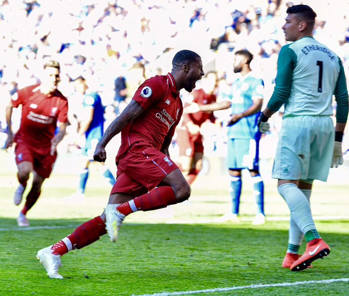 What an amazing Sunday it was! 🙌🏾 Honored to be named Man of the Match as well, thank you 🙏🏾❤️ #YNWA #CARLIV