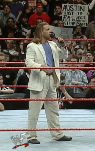 Right before he&#39;s about to face The Rock in the main event of &quot;WrestleMania 15,&quot; one fan feels compelled to remind &quot;Stone Cold&quot; that he lost to Savio Vega in a Caribbean Strap Match.... @AEraSigns<br>http://pic.twitter.com/lCsCeKDWQm