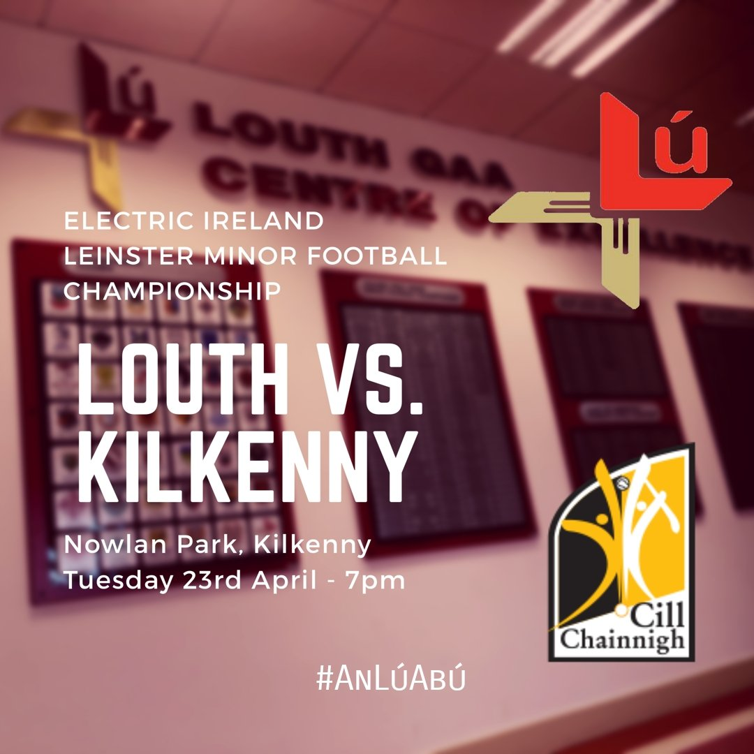 test Twitter Media - Best of luck to our minor footballers as they start their Leinster campaign. #AnLúAbú https://t.co/AFRv9nijZp