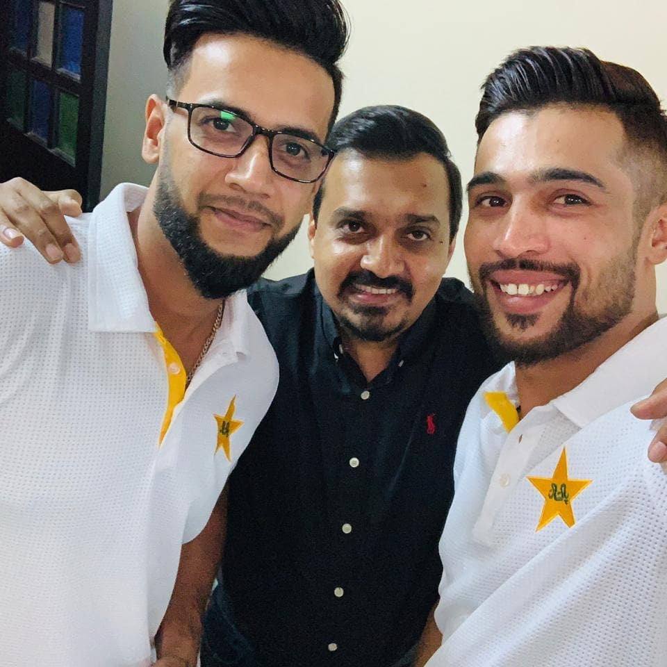Good Luck @simadwasim @iamamirofficial @ImamUlHaq12 for England Tour and #CWC2019..
