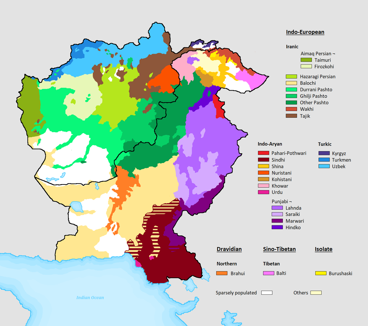 A place for old and new linguistic maps.