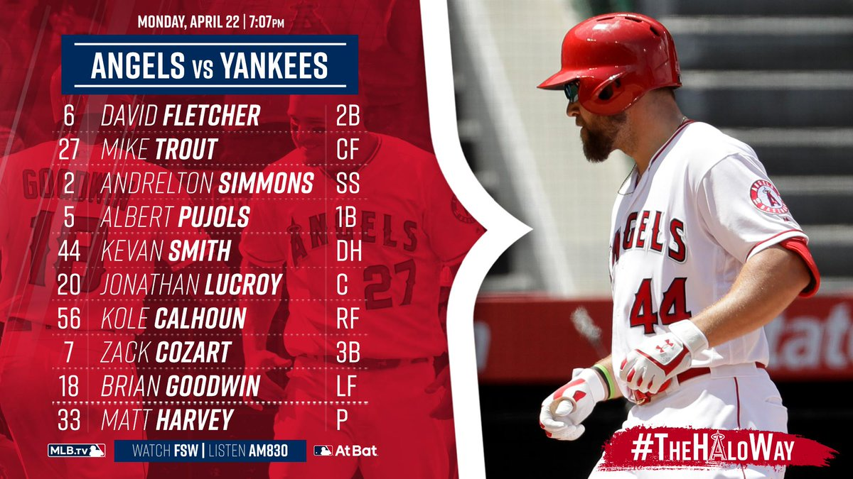 Bring on the Yankees.  Game Preview » https://atmlb.com/2Vkej7g