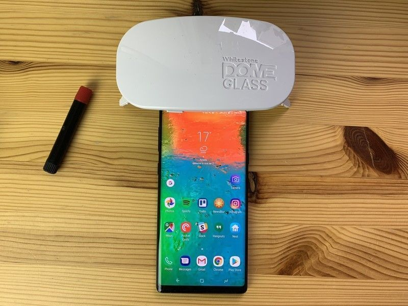 Whitestone Dome Glass Screen Protector for Note 9 review:  The clear winner  https:// buff.ly/2Gt1S0S  &nbsp;   @androidcentral #GalaxyNote9 #WhitestoneDomeGlass<br>http://pic.twitter.com/JV80C5FYEZ