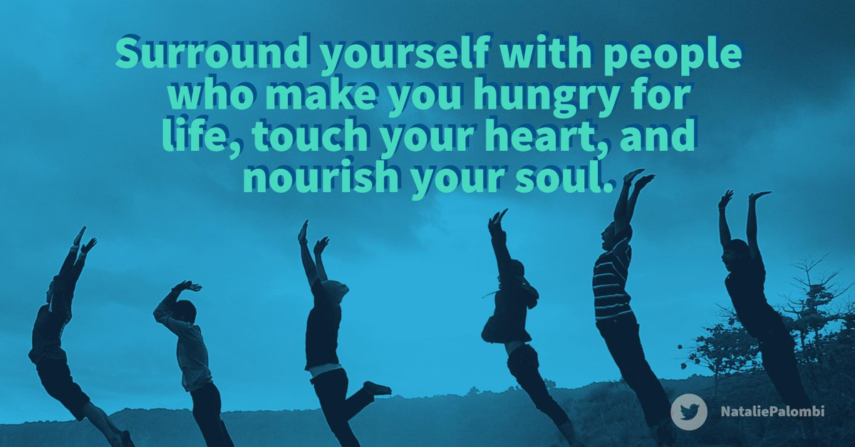 Surround yourself with the people who want to emulate, who you admire! #ThinkBIGSundayWithMarsha #QOTD
