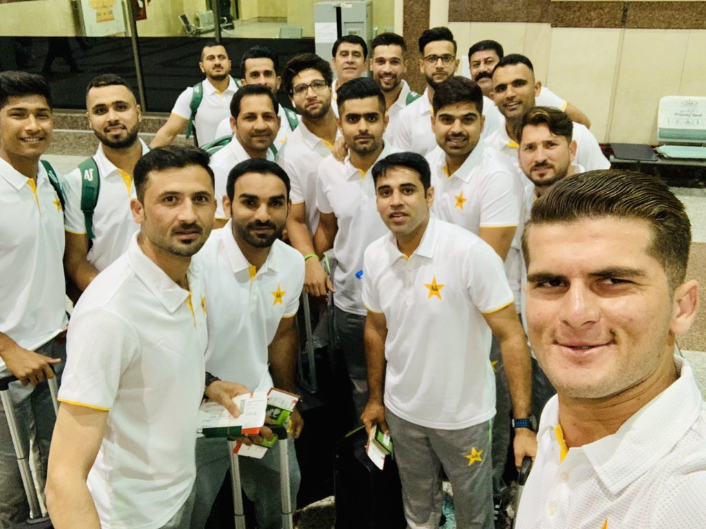The day we prepared for years has finally arrived. Lets pray that we return as champions &amp; give entire Pakistan another reason to smile, in sha Allah. Cornered Tigers are ready for the epic battles. Are you ready Pakistan? #WeHaveWeWill #PakistanZindabad #CWC19<br>http://pic.twitter.com/EK6sAg6P4U