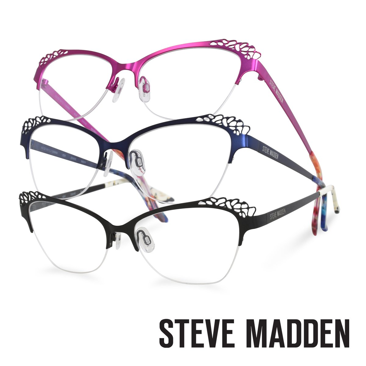 3d0e933bc61d9  SteveMadden  cvoptical  fashion  eyewear Check out what s new from Steve  Madden  http   bit.ly 2RwjAa0 pic.twitter.com dTMxyXYVtv