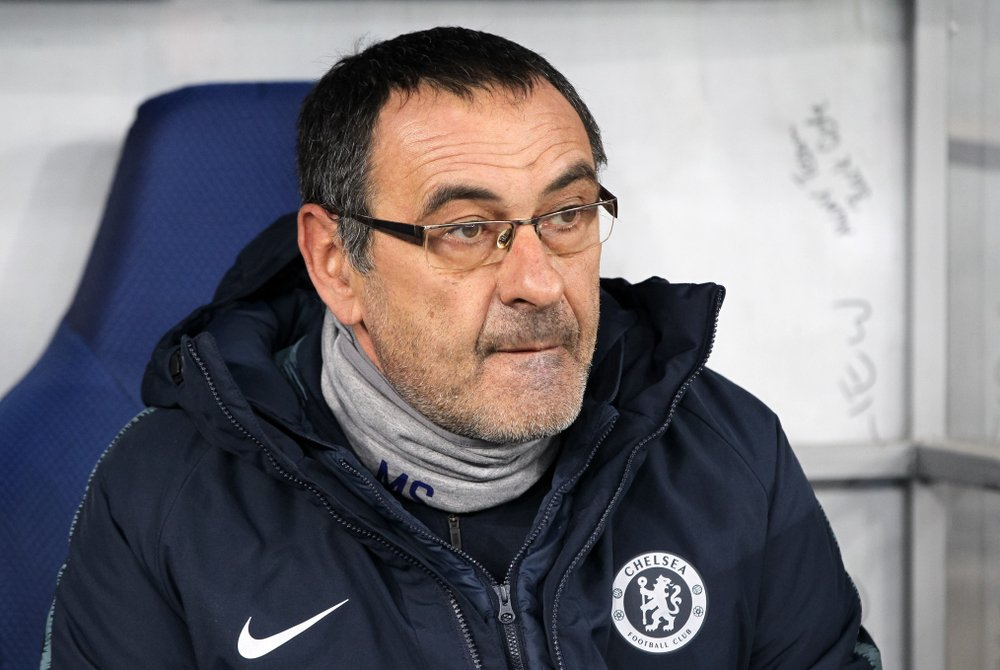 Maurizio Sarri: To reach the final of the League Cup we had to play against Liverpool, against Tottenham, and then the final against Manchester City. It was easier to get to the final in the Champions League I think!