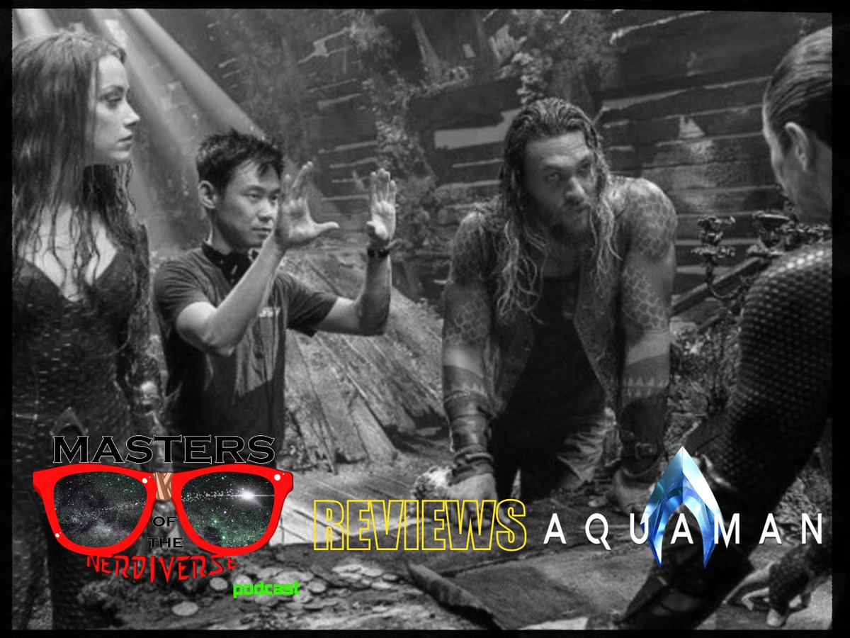 🐠NEW PODCAST EPISODE ALERT🐠  Check out the latest episode of @MNerdiverse Reviews! @BrianJWash and @ironicartist dive into @DCComics 's own @aquamanmovie! Is it a cinematic Great White or a Guppy? Listen and find out! #Aquaman #PodernFamily #MovieReview  https://www.mastersofthenerdiversecast.com/episodes/2019/4/22/motn-reviews-aquaman …