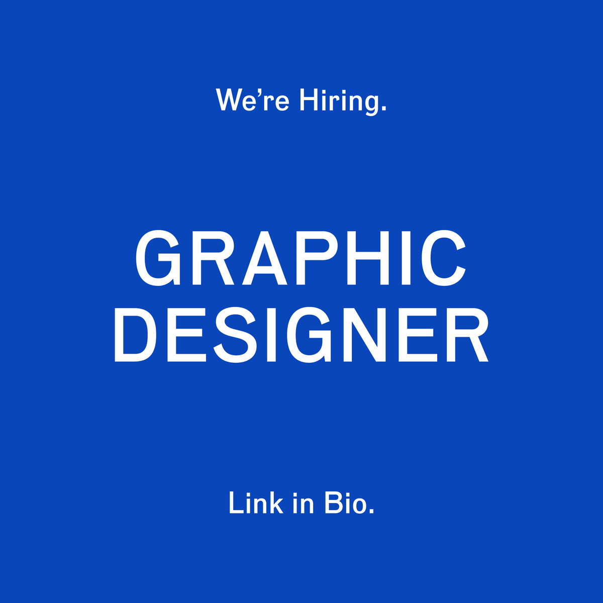 Still looking for a Mid-Sr level Graphic Designer to join our team in Nashville. Interested? Link in bio.