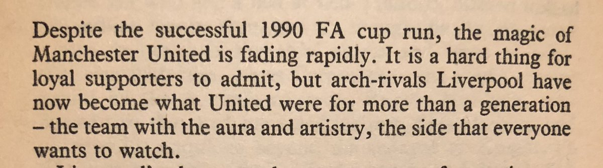 Extracts from the conclusion of 'Manchester United: The Betrayal of a Legend' - 29 years ago