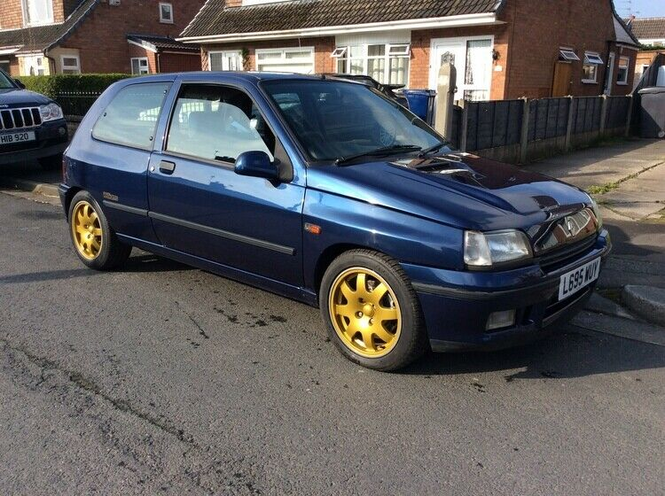 Uk Classic Cars On Twitter Ebay 1994 Renault Clio Williams 1 Low Mileage Fsh Reduced For Quick Sale Https T Co Bkbw4l6bpo Classiccars Cars