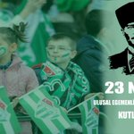 Image for the Tweet beginning: 23 Nisan Ulusal Egemenlik ve