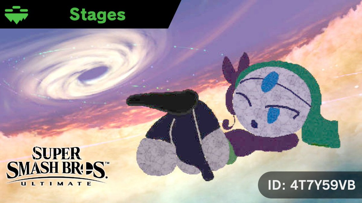 Here&#39;s the ID for the lads who&#39;re asking. #StageSmashBros #SmashBros #NintendoSwitch <br>http://pic.twitter.com/Q8FKqHK3bm