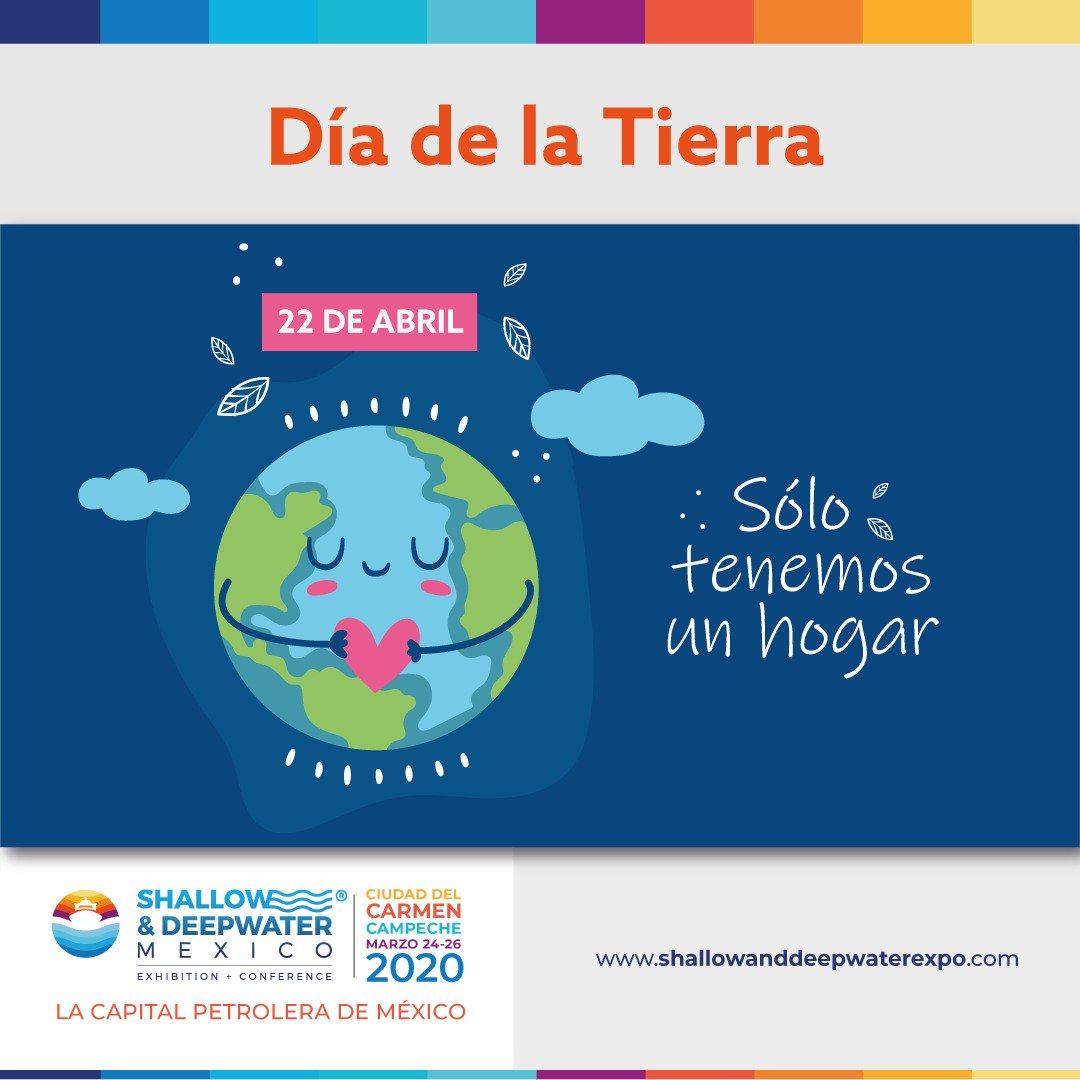 Celebramos con alegría el Día Internacional de la Madre Tierra 🌎❤️💚💙💛💜🧡🥳 #shallowanddeepwater #offshore #costaafuera #oilandgas #energy #upstream