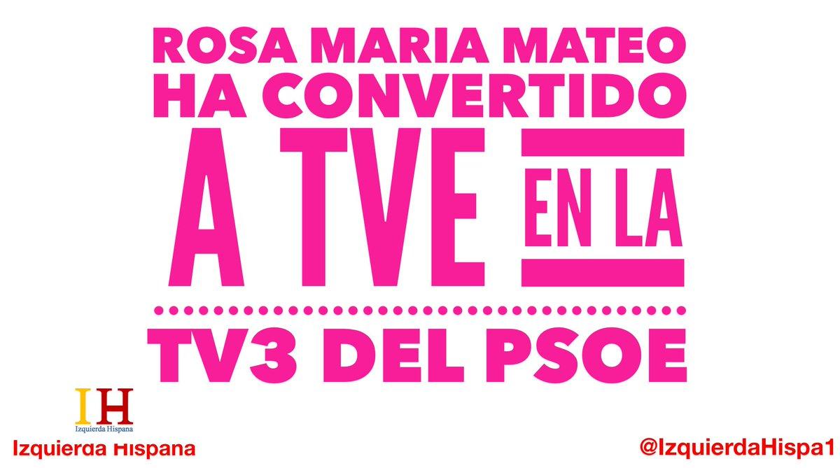 Después del #debate #RosaMariaMateo le da espacio de propaganda a un político que no ha participado en él.  #IzquierdaDigital #izquierdaReal #PoliticaDisruptiva #España #EspañaUnida  #28a#28abrilElecciones #EleccionesGenerales #EleccionesGenerales2019 #tvepropsoe
